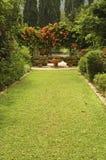 Jardin tropical Photos libres de droits