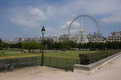 Jardin Tuileries Stockfotos