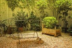 Jardin urbain Images libres de droits