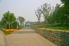 Jardin vert d'expo à Zhengzhou Image stock