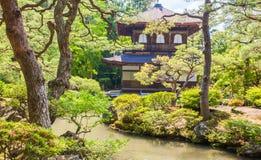 Jardin vert japonais Image libre de droits