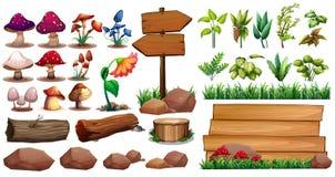 Jardinage illustration libre de droits