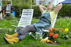Jardinage image stock