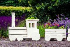 Jardinage de fleur de paysage Photo libre de droits