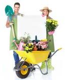 Jardinagem. Imagens de Stock