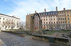 Jardine archeologic, Λυών Στοκ Εικόνες