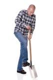 Jardineiro com onda imagem de stock