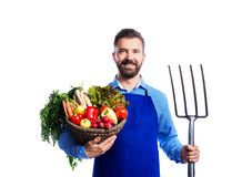Jardineiro considerável novo Imagem de Stock