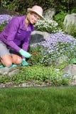 Jardineiro da senhora imagem de stock royalty free