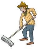 Jardineiro - desenhos animados Imagem de Stock