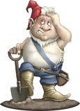 Jardineiro do Gnome Fotos de Stock Royalty Free