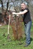 Jardineiro novo Foto de Stock Royalty Free