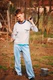 Jardineiro pequeno Imagem de Stock Royalty Free