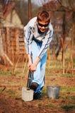 Jardineiro pequeno Fotografia de Stock Royalty Free