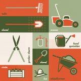 Jardinería ilustración del vector