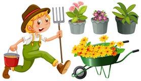 Jardinería Fotografía de archivo libre de regalías