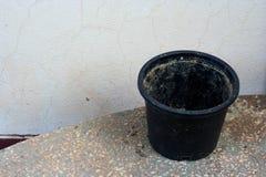 Jardinera negra Foto de archivo