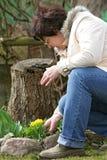 Jardinero imagen de archivo