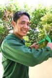 Jardinero foto de archivo libre de regalías