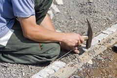 Jardinero de paisaje Imagen de archivo libre de regalías