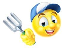 Jardinero Emoticon Emoji Fotos de archivo libres de regalías