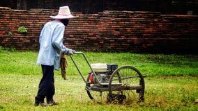 Jardinero en Tailandia fotos de archivo libres de regalías