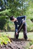 Jardinero joven Foto de archivo libre de regalías