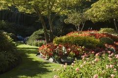 Jardines 02 de Butchart Foto de archivo libre de regalías