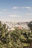 Jardines Amman en Jordania Imagenes de archivo