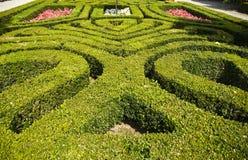 Jardines barrocos en Isola Bella Imagen de archivo libre de regalías