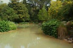 Jardines botánicos, Christchurch Imagen de archivo