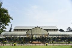 Jardines botánicos de Lalbagh, Bangalore, Karnataka, imagen de archivo
