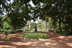 Jardines botánicos de Lalbagh, Bangalore, Karnataka, fotos de archivo