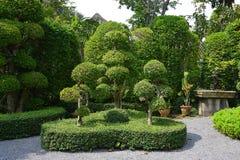 Jardines botánicos en Asia sudoriental Imagen de archivo