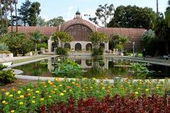 Jardines botánicos en el parque del balboa Fotos de archivo libres de regalías