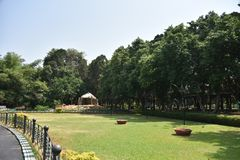 Jardines bot?nicos de Lalbagh, Bangalore, Karnataka fotos de archivo
