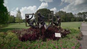 Jardines/Carolina del Sur/los E.E.U.U. de Brookgreen metrajes