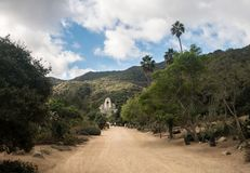 Jardines conmemorativos y botánicos de Wrigley en Catalina Island foto de archivo libre de regalías