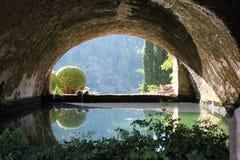 Jardines-d'Alfabia Stockbild