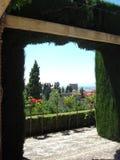 Jardines de Alhambra Fotos de archivo