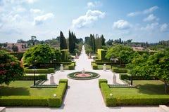 Jardines de Bahai Imágenes de archivo libres de regalías
