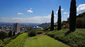 Jardines de Bahai Imagen de archivo libre de regalías