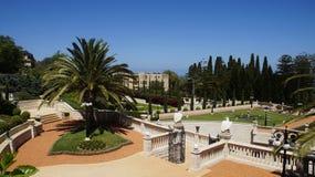 Jardines de Bahai Imagenes de archivo