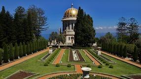Jardines de Bahai Fotos de archivo libres de regalías