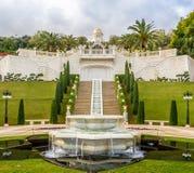 Jardines de Bahai, ciudad de Haifa, Israel Imagen de archivo libre de regalías