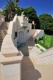 Jardines de Bahai en Haifa Imagenes de archivo