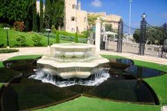 Jardines de Bahai en Haifa Foto de archivo libre de regalías