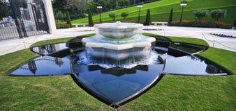 Jardines de Bahai - Haifa, Israel Imagen de archivo libre de regalías
