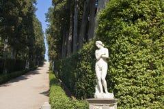 Jardines de Boboli Fotografía de archivo libre de regalías
