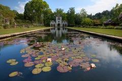 Jardines de Bodnant imagen de archivo